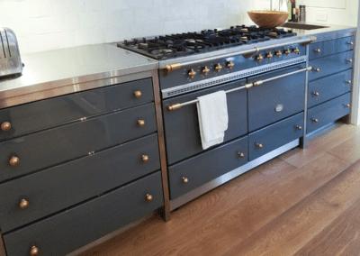 metal stove range